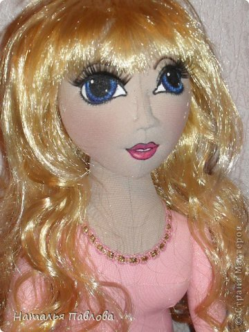 Захотелось внучке на день рождения сделать куклу...Кто,если не я, ей такую подарит? фото 6