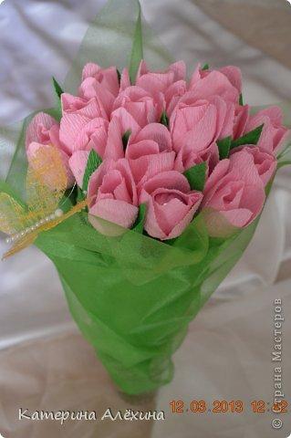 Такие тюльпаны получились) фото 3
