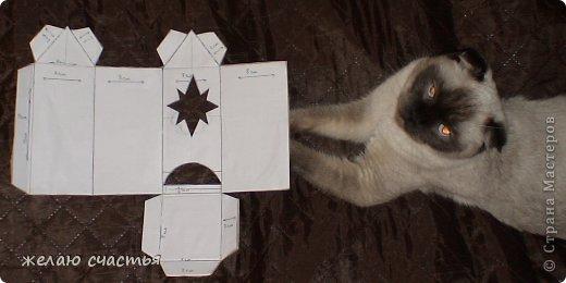 Вот такую заготовку я сделала из картона.  выс.15 см. х шир 7см.      выс.15 см. х шир8 см фото 1