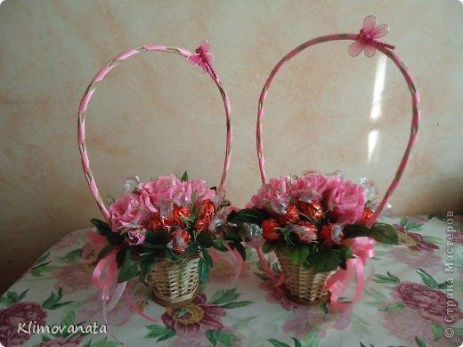Корзиночки с цветами! фото 2