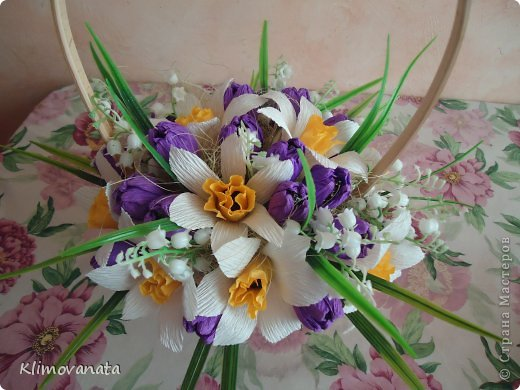 Корзиночки с цветами! фото 6