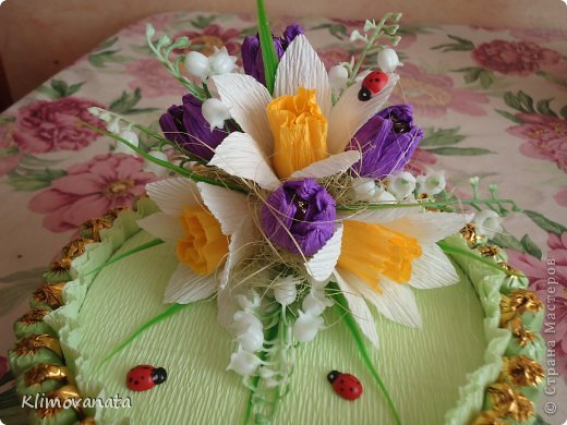 Корзиночки с цветами! фото 10