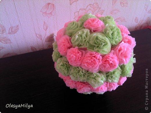 дочка делала цветочки.. фото 2