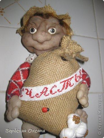Ура!! Это моя первая кукла из капрона!!Благодаря МК Оксаны Третьяковой, я себе домой сделала вот такого жителя!! Конечно недочетов очень много, но все-таки это моя первая проба!!!