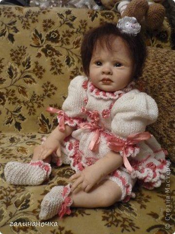 Куколка реборн Варенька родилась 9 марта.Рост 62 см,вес 2650. фото 3
