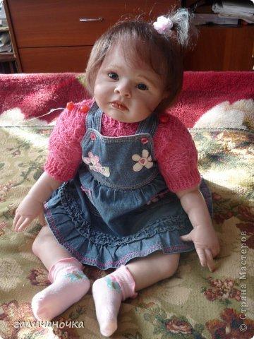 Куколка реборн Варенька родилась 9 марта.Рост 62 см,вес 2650. фото 1