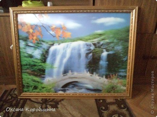Водопад (песок цветной) фото 1