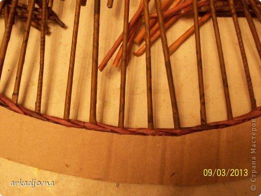 Мастер-класс Плетение МК по рамке для вышивки Бумага газетная фото 3