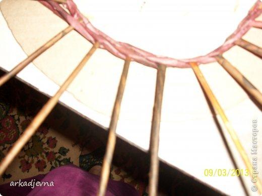 Мастер-класс Плетение МК по рамке для вышивки Бумага газетная фото 5