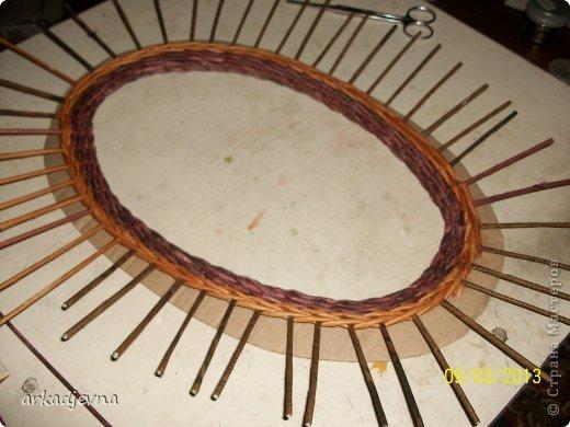 Здравствуйте Мастера!!!!! Выкладываю маленький МК  по плетению рамки для вышивки. фото 6