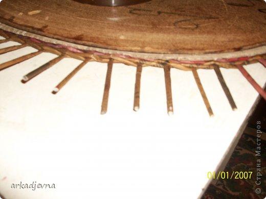 Мастер-класс Плетение МК по рамке для вышивки Бумага газетная фото 8