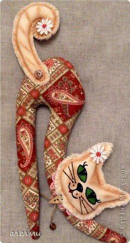 Вот и ещё одна киска! Размерчик приличный с хвостом почти 40 см. http://homyachok-scrap-challenge.blogspot.com/2013/03/cats.html на Хомячке проходит конкурс, вот решила принять участие, спасибо Лене LL.  фото 1