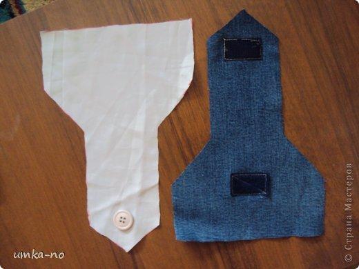 Я тоже попробывала шить и мне так понравилось!А еще больше надоело,что джинсы которыми не пользуемся перекладываем с полки на полку потому что выбросить рука не поднимается.И так не судите строго-это мой дебют. фото 9