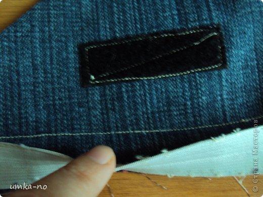 Я тоже попробывала шить и мне так понравилось!А еще больше надоело,что джинсы которыми не пользуемся перекладываем с полки на полку потому что выбросить рука не поднимается.И так не судите строго-это мой дебют. фото 14