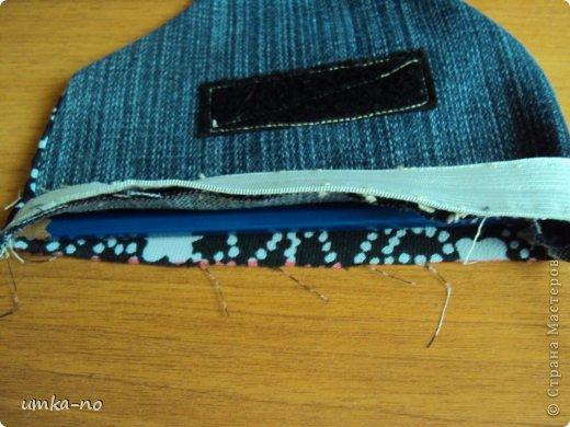 Я тоже попробывала шить и мне так понравилось!А еще больше надоело,что джинсы которыми не пользуемся перекладываем с полки на полку потому что выбросить рука не поднимается.И так не судите строго-это мой дебют. фото 15