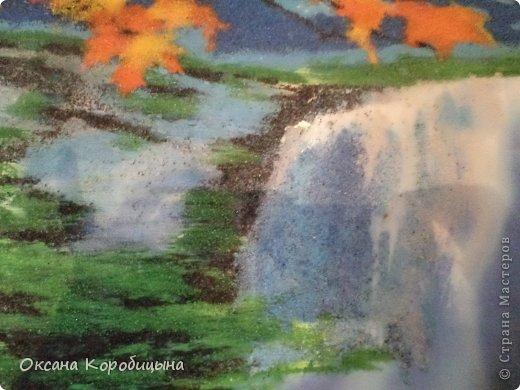 Водопад (песок цветной) фото 2