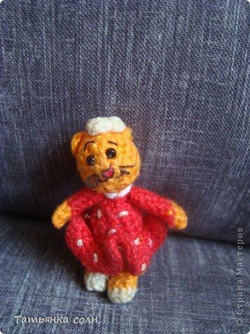 Мишка Теди и кошечка земляничка фото 5