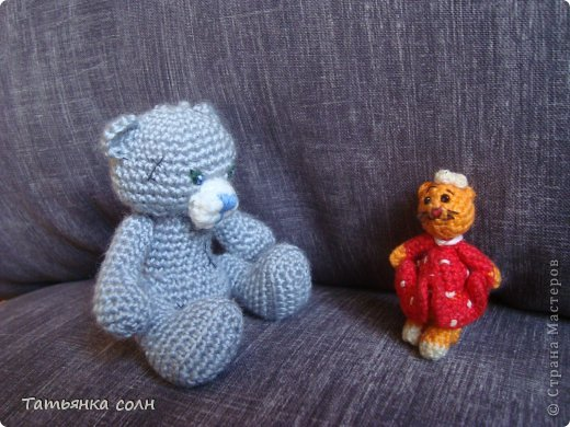 Мишка Теди и кошечка земляничка фото 6