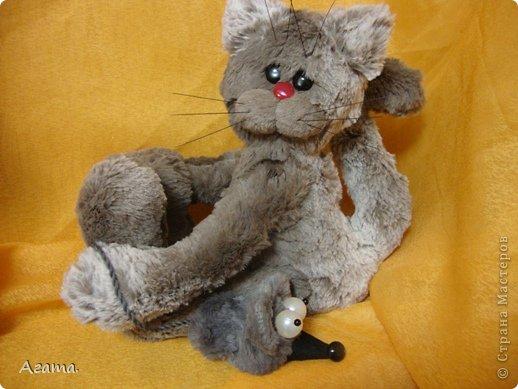 Кот с мышью. фото 2