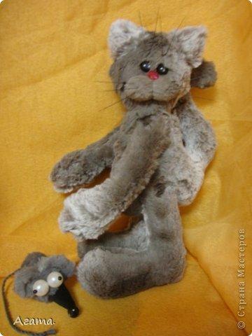 Кот с мышью. фото 3