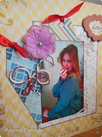 Страничка о себе любимой - открывает 2011 год в альбоме =)  Фотография как-то не очень четко вышла... Фотографировала впервые утром! =) фото 4