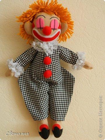 Как сделать клоуна фото