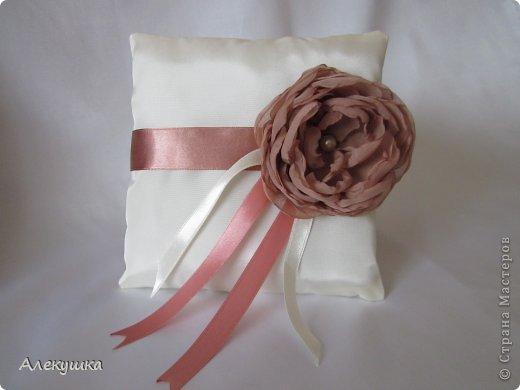 Мои свадебные подушечки для колец фото 8