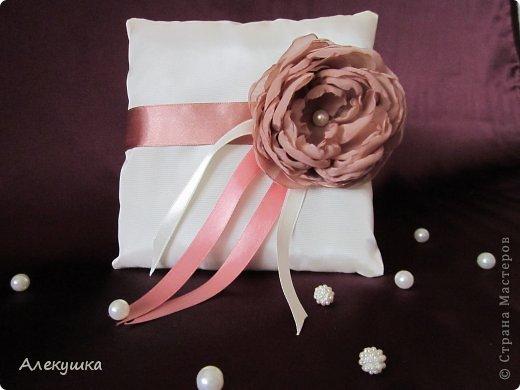 Мои свадебные подушечки для колец фото 9