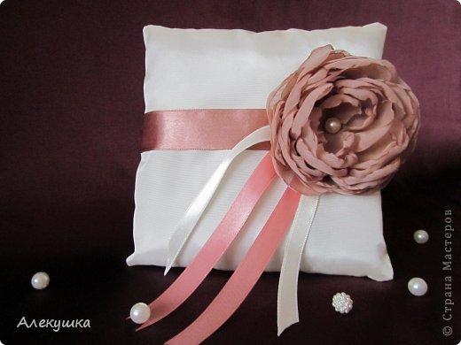 Мои свадебные подушечки для колец фото 7