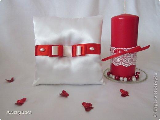 Мои свадебные подушечки для колец фото 6