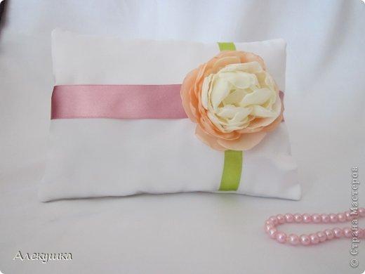 Мои свадебные подушечки для колец фото 3