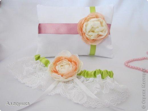 Мои свадебные подушечки для колец фото 2