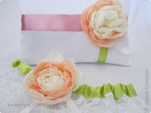 Мои свадебные подушечки для колец фото 1