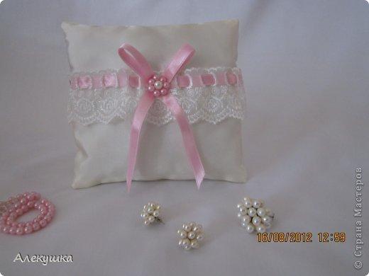 Мои свадебные подушечки для колец фото 11
