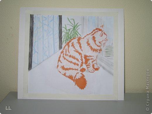 """На Хомячке задание """"Коты неземной красоты """" http://homyachok-scrap-challenge.blogspot.com/2013/03/cats.html фото 1"""