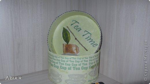 коробочка для чайных пакетиков.........решила сделать не домик))))))) фото 4