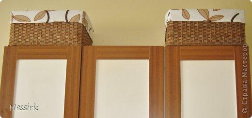 Такие корзины сделалa на кухне, размеры - 40*30*19cm фото 3