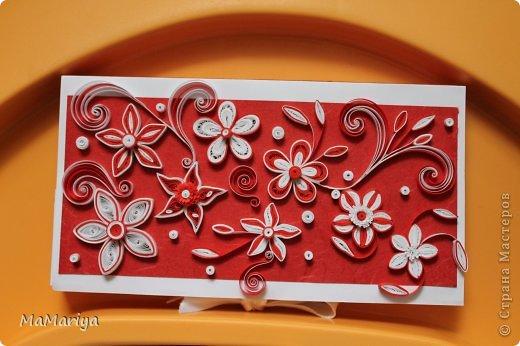 Шоколадницы, украшенные моим любимым квиллингом. фото 2