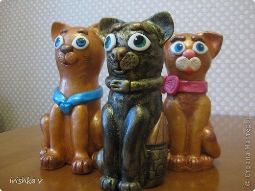 Добрый день! Хочу показать Вам свои работы. У меня появились еще две кошечки. Творение кошек началось отсюда https://stranamasterov.ru/node/258710?c=favorite фото 1