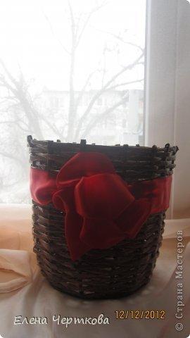 корзина для цветов фото 1