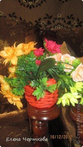 корзина для цветов фото 2