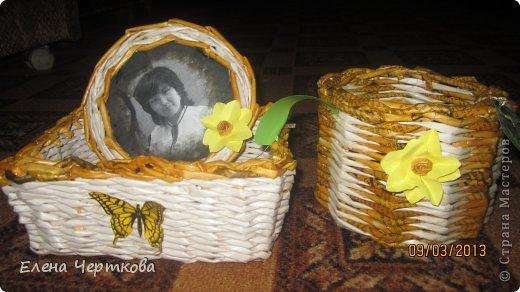 корзина для цветов фото 3