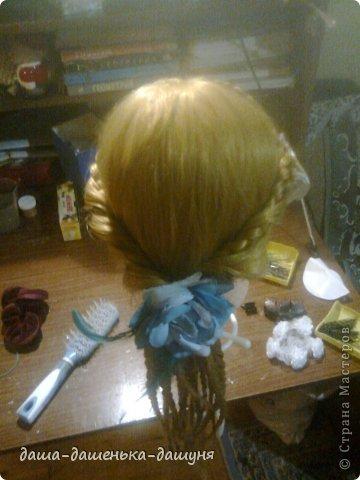 Праздничные причёски: Вид сзади. фото 1