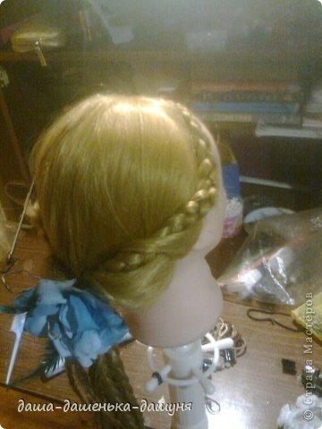 Праздничные причёски: Вид сзади. фото 2