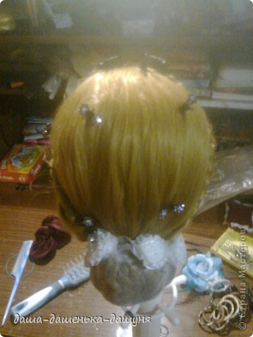 Праздничные причёски: Вид сзади. фото 5