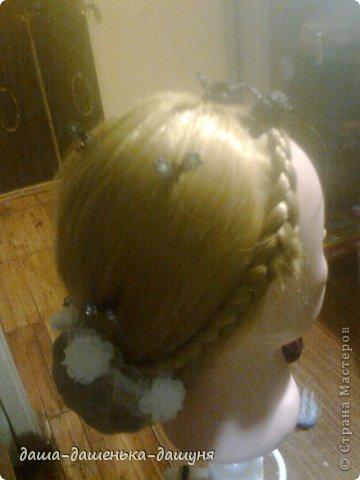 Праздничные причёски: Вид сзади. фото 6