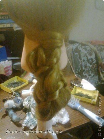Праздничные причёски: Вид сзади. фото 11