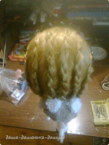 Праздничные причёски: Вид сзади. фото 7
