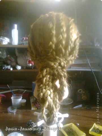 Праздничные причёски: Вид сзади. фото 13