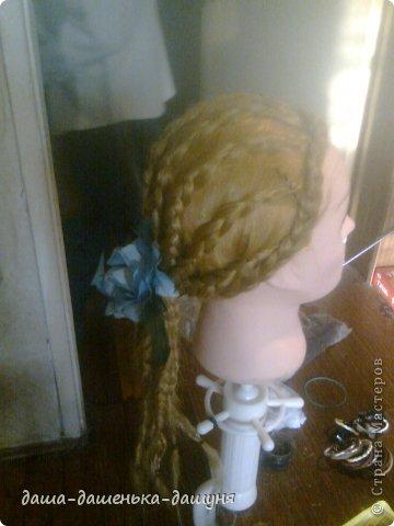 Праздничные причёски: Вид сзади. фото 4